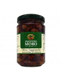 "Olives ""Taggiasche"" pitted in brine"